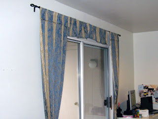 how to hem curtains if you are allergic to sewing