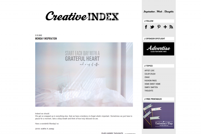 Creative Index