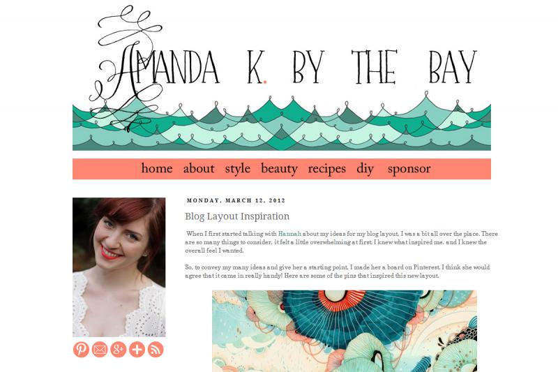 Amanda K by the Bay