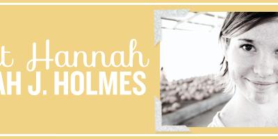 Hannah from Hannah J. Holmes
