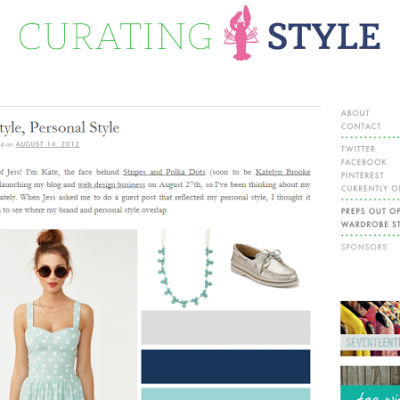 Blog Style to Personal Style on Curating Style