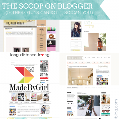 The Scoop on Blogger