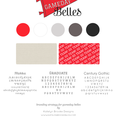Branding: Gameday Belles
