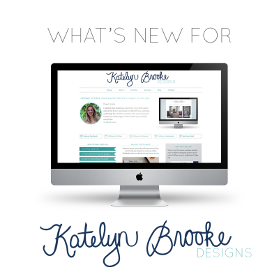 Recent Changes at Katelyn Brooke Designs