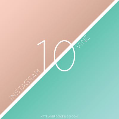 10 for 10: Instagram and Vine