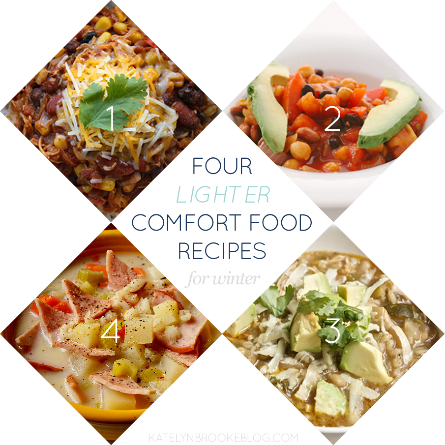 Four Lighter Comfort Food Recipes