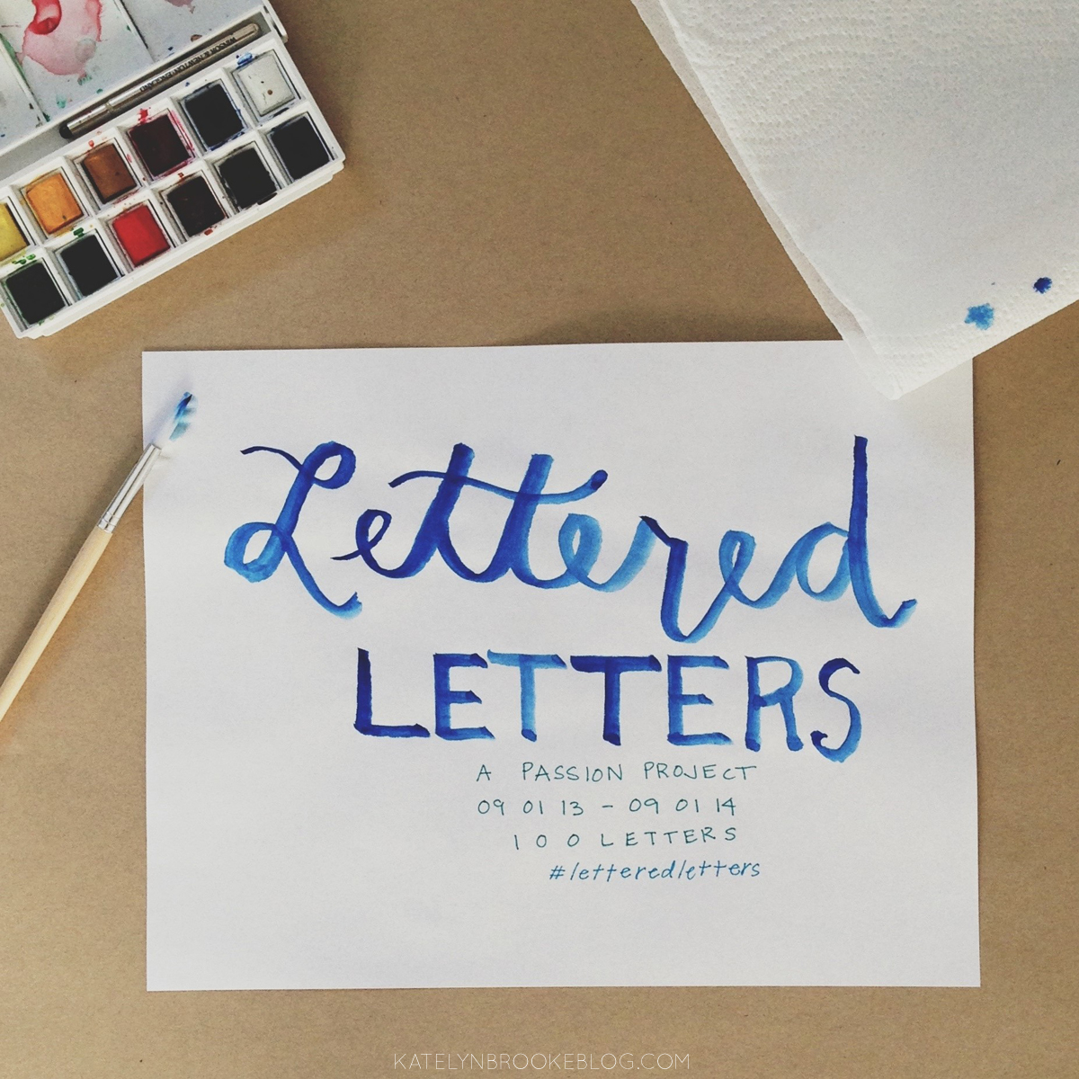 Lettered Letters