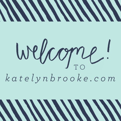 Welcome to KatelynBrooke.com!