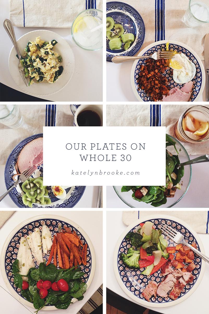 Whole 30 Meals || katelynbrooke.com