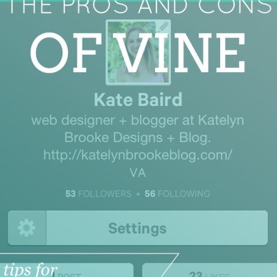 Vine: the Pros and Cons