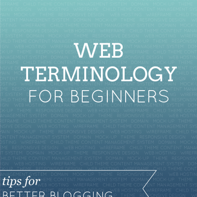 Web Terminology for Beginners