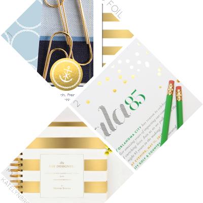 Trifecta: Gold Foil