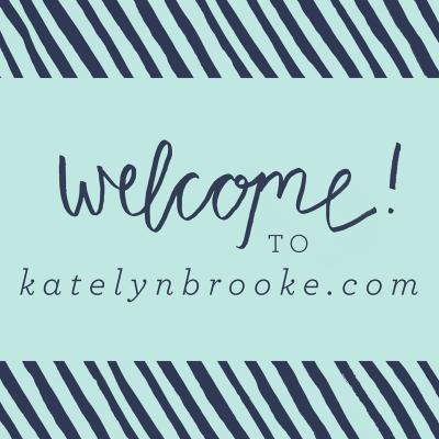 Welcome to KatelynBrooke.com!