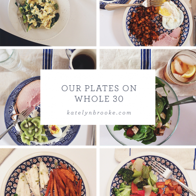 Our Whole 30: details and a freebie