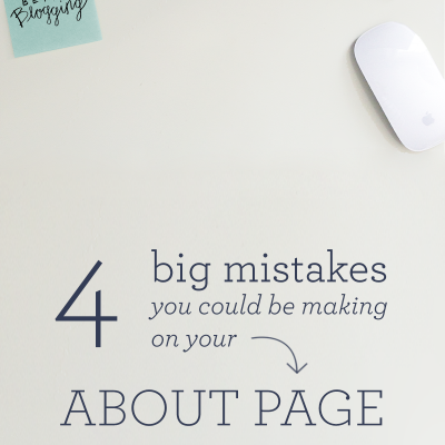 4 mistakes I was making on my about page (and how to fix them!)